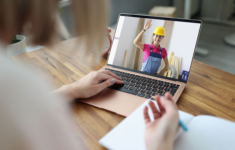Contractor interviews and selection